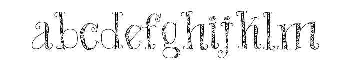 Bad King Font LOWERCASE