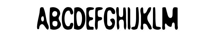 Bad+Quality Font UPPERCASE