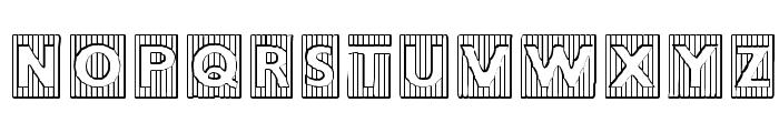 BadBaltimore Beveled Font UPPERCASE