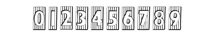 BadBaltimoreBeveled Font OTHER CHARS