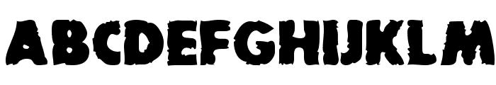 BadDogSCapsSSK Bold Font UPPERCASE