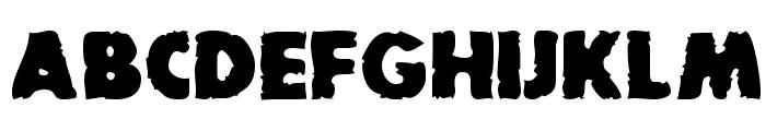 BadDogSCapsSSK Bold Font LOWERCASE