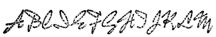 BadGong Font UPPERCASE