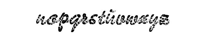 BadGong Font LOWERCASE