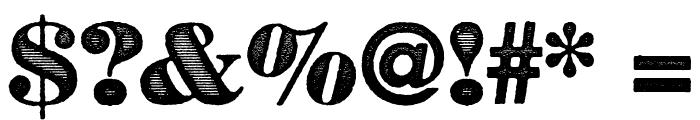 BadGuyBlack Font OTHER CHARS