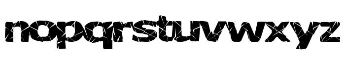 BadLuck Font LOWERCASE