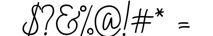 BadScript-Regular Font OTHER CHARS
