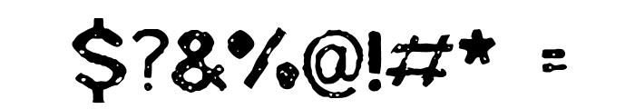 BadSkizoff Font OTHER CHARS