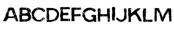 BadSkizoff Font LOWERCASE