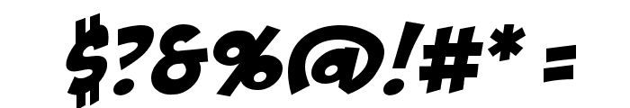 BadaBoom BB Font OTHER CHARS