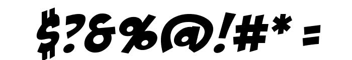 BadaBoomBB Font OTHER CHARS