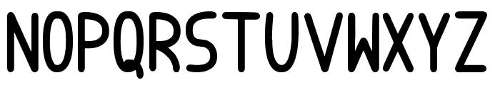 Badopus tfb Font UPPERCASE