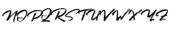 BaforaDemo Font UPPERCASE