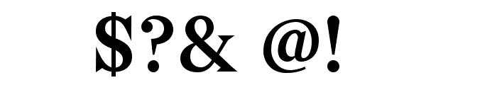 Bagnard Font OTHER CHARS