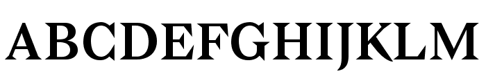 Bagnard Font UPPERCASE