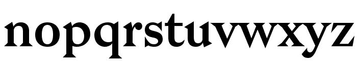 Bagnard Font LOWERCASE