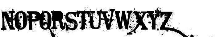 Bagpack Font LOWERCASE