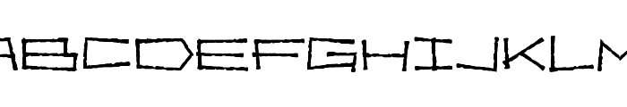 Bahama Slim Font UPPERCASE