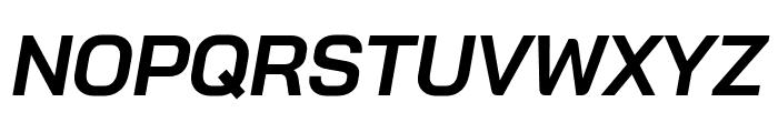 Bai Jamjuree Bold Italic Font UPPERCASE