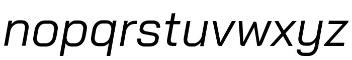 Bai Jamjuree Italic Font LOWERCASE