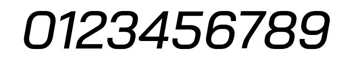 Bai Jamjuree Medium Italic Font OTHER CHARS