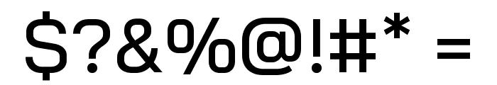Bai Jamjuree Medium Font OTHER CHARS