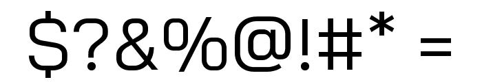 Bai Jamjuree Regular Font OTHER CHARS
