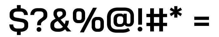 Bai Jamjuree SemiBold Font OTHER CHARS