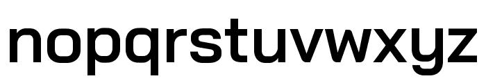 Bai Jamjuree SemiBold Font LOWERCASE
