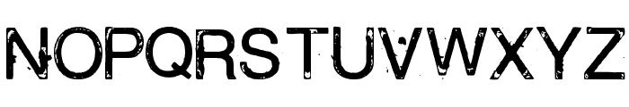 Bailando Font UPPERCASE