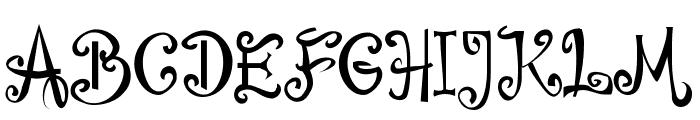 Bajareczka Font UPPERCASE