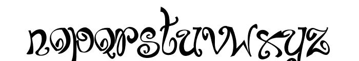 Bajareczka Font LOWERCASE