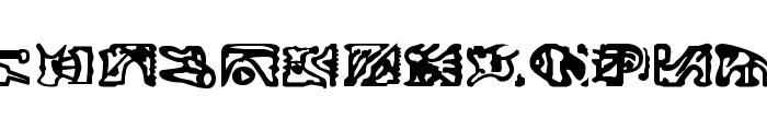 Bajoran Ideogram - ST canon based Font LOWERCASE