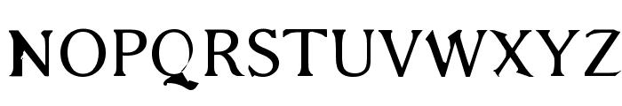 Bajsmaskin Font UPPERCASE