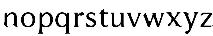 Bajsmaskin Font LOWERCASE