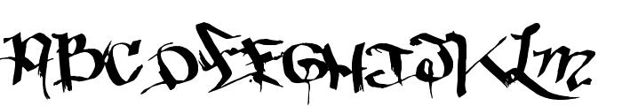 BakedTrains Font LOWERCASE