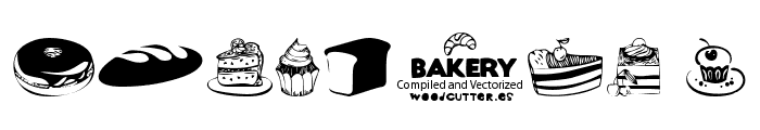 Bakery Font OTHER CHARS