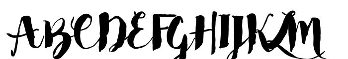 Bakery Font UPPERCASE