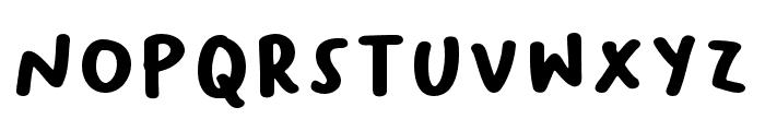 BaksoSapi Font LOWERCASE