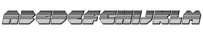 Bal-Astaral Chrome Italic Font UPPERCASE