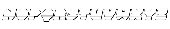 Bal-Astaral Chrome Italic Font LOWERCASE