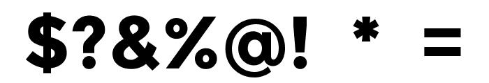 Balans-Line Font OTHER CHARS