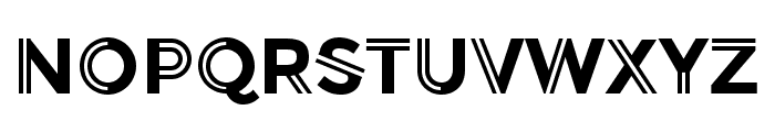 Balans-Normal Font UPPERCASE