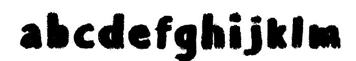 Balballa Font LOWERCASE