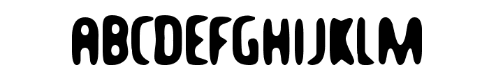 Balcony Angels Font UPPERCASE