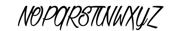 Baldaquin Font UPPERCASE