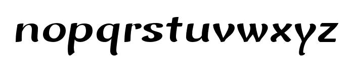 Baldo-Italic Font LOWERCASE