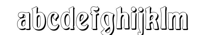 Baldur Shadow Font LOWERCASE