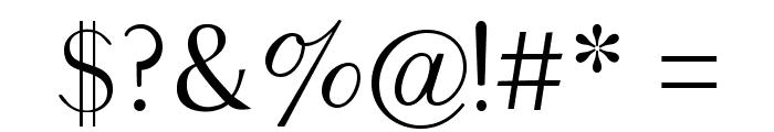 Balham Font OTHER CHARS