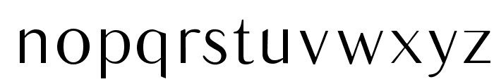 Balham Font LOWERCASE